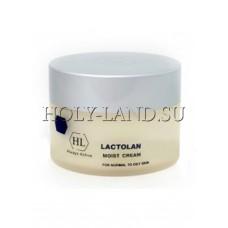 Увлажняющий крем для жирной кожи / Holy Land Lactolan Moist Cream for Oily Skin 250ml