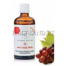 Пилинг с AHA и экстрактом виноградных косточек / Holy Land Anti Age Peel 2 100ml