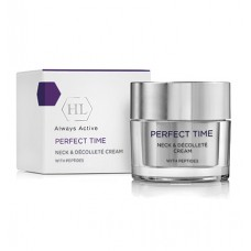 Крем для шеи и декольте / Holy Land Perfect Time Neck & Decollete Cream With Peptides 50ml
