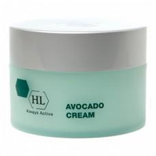 Крем с авокадо для сухой, обезвоженной кожи / HOLY LAND Avocado Cream For Dry Skin 250ml